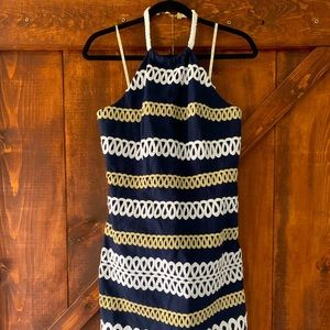 Lilly Pulitzer | Halter Neck Nautical Dress